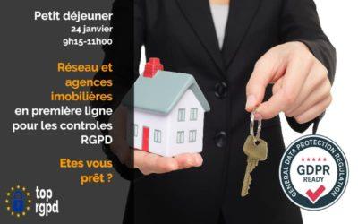 RGPD : Agences immobilières etes-vous prêtes ?[24/01/2019 – 9h15]